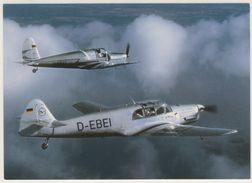 AK  Messerschmitt Bf 108 B-1 Taifun Und Arado Ar 79 Flugzeug _  Ansichtskarte _ Normalformat - Flugzeuge