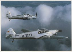 AK  Messerschmitt Bf 108 B-1 Taifun Und Arado Ar 79 Flugzeug _  Ansichtskarte _ Normalformat - Avions