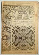 ©01-08-1920 LA BRODERIE ILLUSTREE EMBROIDERY BORDUURWERK STICKEREI RICAMO DMC CROSS STITCH Dentelle POINT DE CROIX R17 - Point De Croix