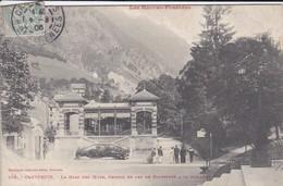 65----CAUTERETS--la Gare Des Oeufs Chemin De Fer De Cauterets A La Raillère---voir 2 Scans - Cauterets