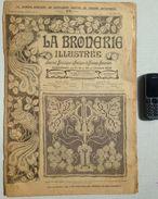 ©01-10-1919 LA BRODERIE ILLUSTREE EMBROIDERY BORDUURWERK STICKEREI RICAMO DMC CROSS STITCH Dentelle POINT DE CROIX R19 - Cross Stitch