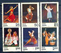 S136- India 1975. Kathak Bharata Natyam Dance, Culture, Heritage, Traditional Dance. - India