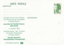 MIch. Nr.  142**  Liberé - Carte Postale - Tag Der Deutschen Freundschaft - Ganzsachen