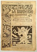 ©20-08-1919 LA BRODERIE ILLUSTREE EMBROIDERY BORDUURWERK STICKEREI RICAMO DMC CROSS STITCH Dentelle POINT DE CROIX R35 - Cross Stitch