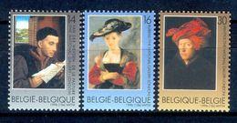 S145- België Belgique Belgium 1996. Famous Painter Van Dyck Paintings By Rubens. - Belgium