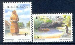 S149- België Belgique Belgium 1996. Painting. Plant. River. - Belgium