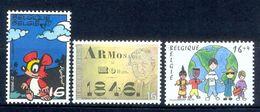 S150- België Belgique Belgium 1996. Lot Of Three Stamps. Cartoon. Painting. - Belgium