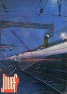 CATALOGUE JOUETS- JOUEF 1972-1973- LOCOMOTIVE GARE TRAINS- + TARFS-BILLARD TRACTEUR - Railway & Tramway