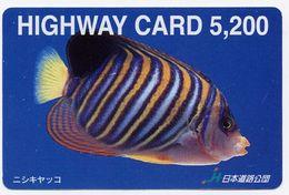 Poisson Peixe Fish Corail Mer Carte Prépayée Card  (S.470) - Fish