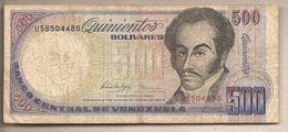 Venezuela - Banconota Circolata Da 500 Bolivares - 1998 - Venezuela