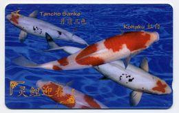 Poisson Peixe Fish Corail Mer Télécarte Phonecard  (S.482) - Singapur