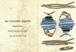 Calendrier 2009 M.C Guillon-Fillon, Maillezais - Tamaño Pequeño : 2001-...