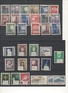 AUSTRIA 1946-1954 LOTTO FRANCOBOLLI NUOVI MNH - Feuillets