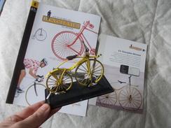 VELO Delgado Les Plus Belles Bicyclettes Du Monde N° 8 Vélocipède Michaux - Other Collections
