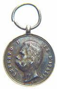 Regno D' Italia - Umberto I - Mignon / Miniatura Unità D' ITALIA (1848 - 1870) Argento / S. Johnson - Monarchia/ Nobiltà