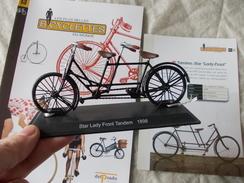VELO Delprado Les Plus Belles Bicyclettes Du Monde N° 13 Tandem Star Lady-Front - Autres Collections
