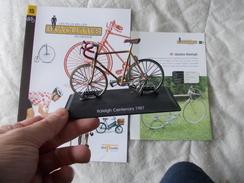 VELO Delprado Les Plus Belles Bicyclettes Du Monde N° 15 Golden Raleigh - Other Collections