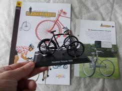 VELO Delprado Les Plus Belles Bicyclettes Du Monde N° 16 Kendrick Pattern Tricycle - Autres Collections