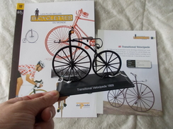VELO Delprado Les Plus Belles Bicyclettes Du Monde N° 17 Transitional Velocipede - Autres Collections
