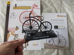 VELO Delprado Les Plus Belles Bicyclettes Du Monde N° 17 Transitional Velocipede - Other Collections