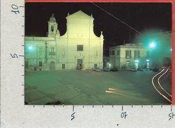 CARTOLINA NV ITALIA - GRAVINA (BA) - Chiesa S. Agostino - Notturna - 10 X 15 - Bari