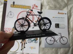 VELO Delprado Les Plus Belles Bicyclettes Du Monde N° 18 Shaft Driven Bicycle - Autres Collections