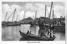 ¤¤  -   YEMEN   -  ADEN   -  Arab Dhows  -  Bateaux Dans Le Port   -  ¤¤ - Yémen