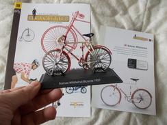 VELO Delprado Les Plus Belles Bicyclettes Du Monde N° 19 Baines Whirlwind - Autres Collections