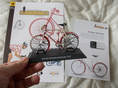 VELO Delprado Les Plus Belles Bicyclettes Du Monde N° 19 Baines Whirlwind - Other Collections