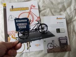 VELO Delgado Les Plus Belles Bicyclettes Du Monde N° 20 Triporteur - Other Collections