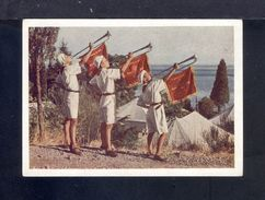 "1954. The USSR. Crimea. Camp ""Artek"". The Music. Sea. Flora. Pioneers. B.N. Romanov. 45. - Holidays & Tourism"