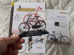VELO Delprado Les Plus Belles Bicyclettes Du Monde N° 22 Raleigh Roadster - Autres Collections