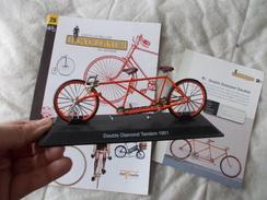VELO Delprado Les Plus Belles Bicyclettes Du Monde N° 26 Double Diamond Tandem Cassé - Other Collections