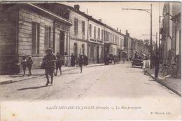 33 - Saint-Médard-en-Jalles (Gironde) - La Rue Principale - France