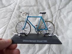 VELO Delprado Les Plus Belles Bicyclettes Du Monde Gitane Bernard Hinault 1980 - Autres Collections