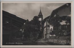 Scharans - Dorfpartie - Photo: R. Guler - GR Grisons