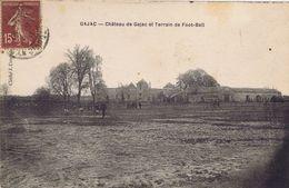 33 - Gajac (Gironde) - Château De Gajac Et Terrain De Foot-ball - Otros Municipios