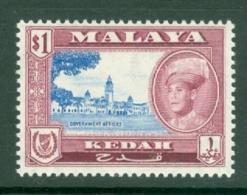 Malaya - Kedah: 1959/62   Sultan Abdul Halim Shah - Pictorial     SG112    $1     MH - Kedah