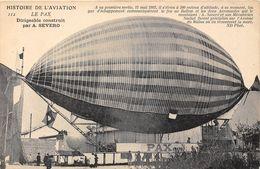 LE PAX LE DIRIGEABLE CONSTRUIT PAR A. SEVERO - Dirigeables