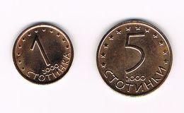 ) BULGARIJE  1 - 5 STOTINKI  2000 - Bulgarie