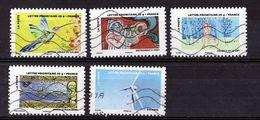 2013  YT  / 896 -897 -898 -899 -900 - France