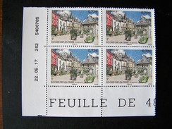 FRANCE 2017 NEUF** N° 5155 ROCHEFORT EN TERRE COIN FEUILLE DATE 22.05.17 - 2010-....