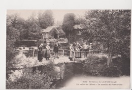 26295 LANDIVISIAU Vallée Elorn Moulin Pont Ar Zal -éd :3592 Villard ? Costume Breton - Landivisiau