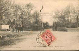 Camp De Chalons - Entrée De L'Hôpital Militaire - Châlons-sur-Marne
