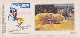 775  BUVARD FLAN LYONNAIS PROVENCE APRES LA MOISSON - Dairy