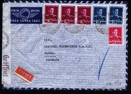 A4796) Rumänien Romania Express-Luftpostbrief 9.12.40 Nach Germany - 2. Weltkrieg (Briefe)