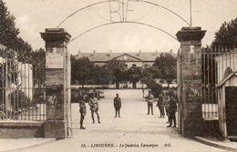 CPA - LIBOURNE (33) - Aspect Des Casernes Du Quartier Lamarque Dans Les Années 30 - Autres Communes