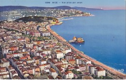 NICE VUE PRISE PAR AVION - Niza
