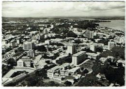 Carte Photo. A Travers Le Congo...Léopoldville. Vue Aérienne. - Belgisch-Congo - Varia