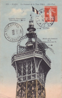 PARIS LA TOUR EIFFEL SOMMET AVEC CACHET SOMMET - Tour Eiffel